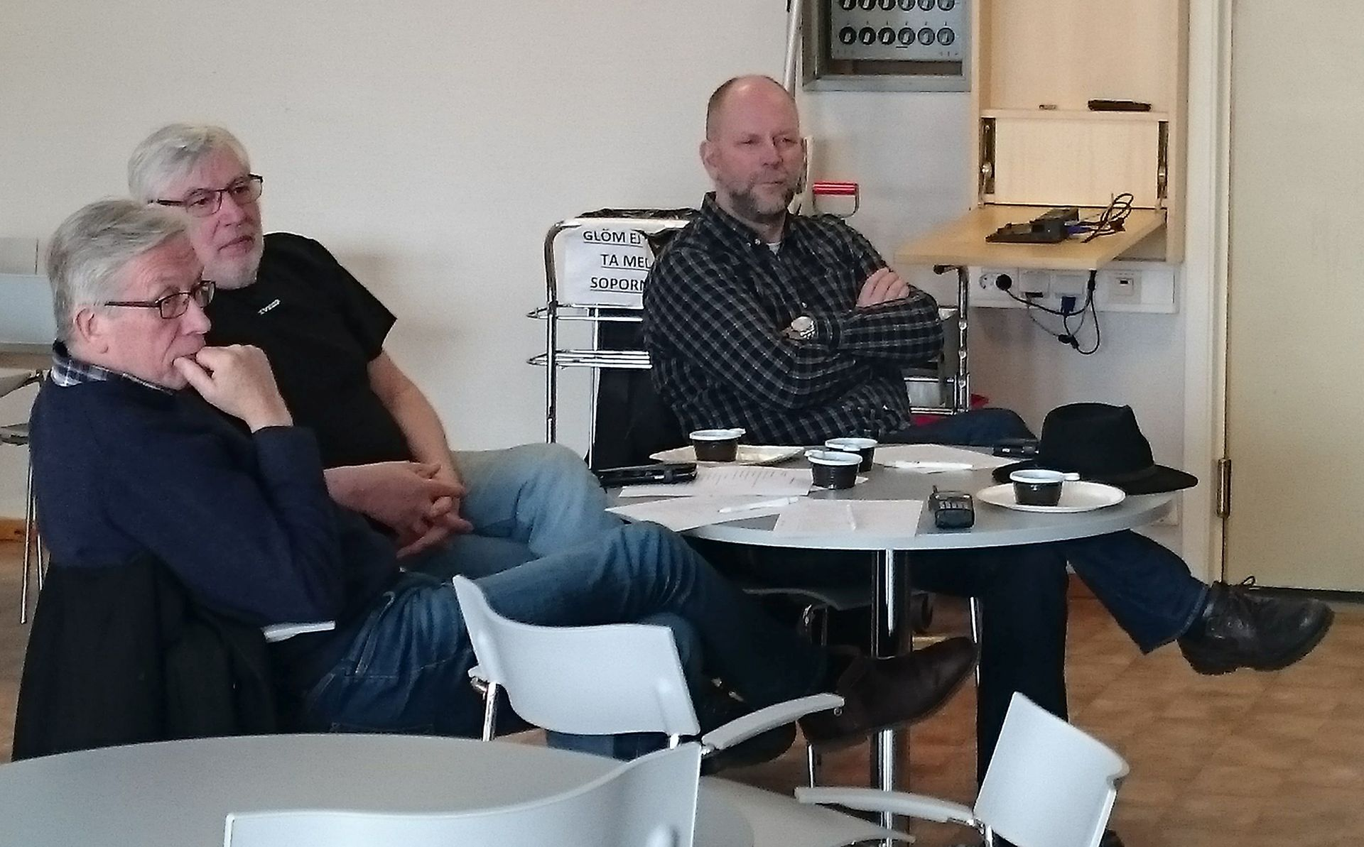 District 2 meeting in Skelleftea