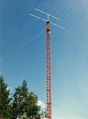 SK2AU antenna tower